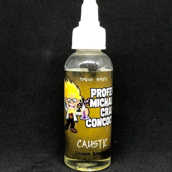 Professor Michaluks Crazy Concoctions – Caustic – 50ml