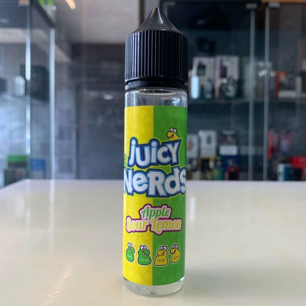 Juicy Nerds – Apple & Sour Lemon