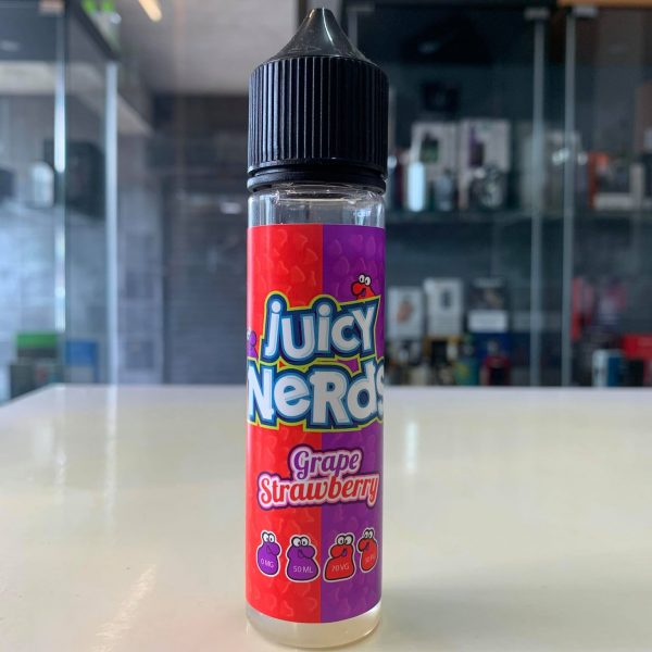 Juicy Nerds – Grape & Strawberry 50ml