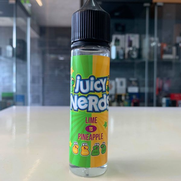 Juicy Nerds – Lime vs Pineapple