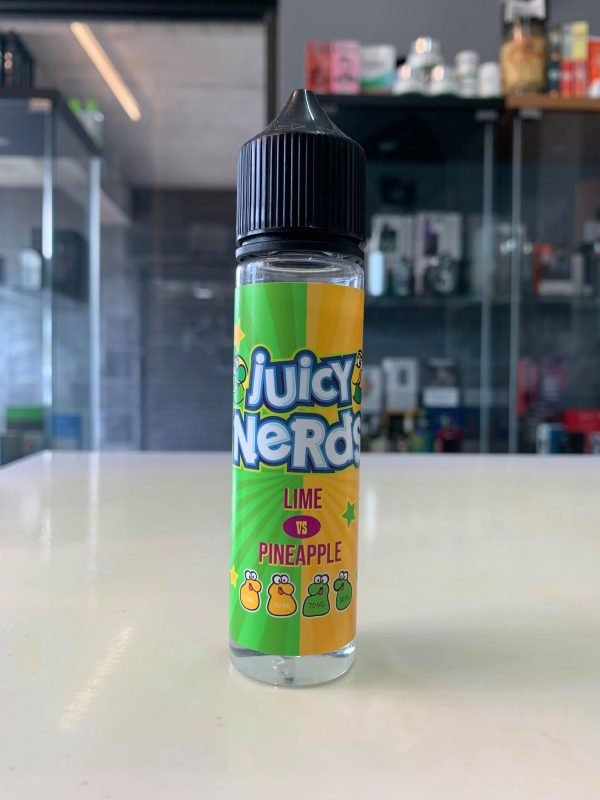 juicy nerds lime pineapple Just Mist eCig Vaping Northern Ireland