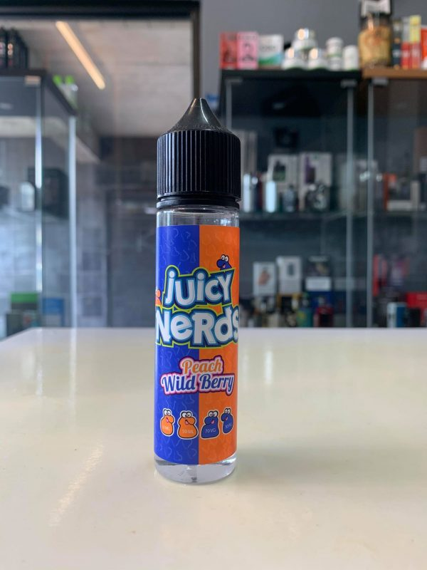 juicy nerds peach berry Just Mist eCig Vaping Northern Ireland